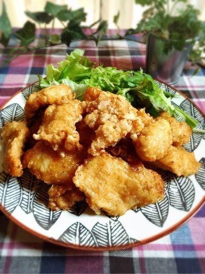 鶏むね肉でしっとり中華香味唐揚げと第二の冷蔵庫! by こっぷんかぁ ...