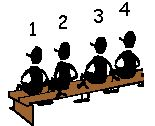 GENUMMERDE HOOFDEN VERSIE 1: lkr verdeelt de klas in groepjes van 4. Elke groepslid krijgt een nummer. De lkr. Noemt een nummer en vervolgens een bewerking, deze ll. met dat nummer (uit de verschillende groepjes) lost de bewerking op. Andere lln. migen nadien aanvullen. VERSIE 2:  Dit kan grbruikt worden bij een lesje frans waarbij de lln. een zin moeten vertalen. Bron:http://www.cteno.be/assets/downloads/cteno/werkvormen_interactieveklaspraktijk_bundel.pdf