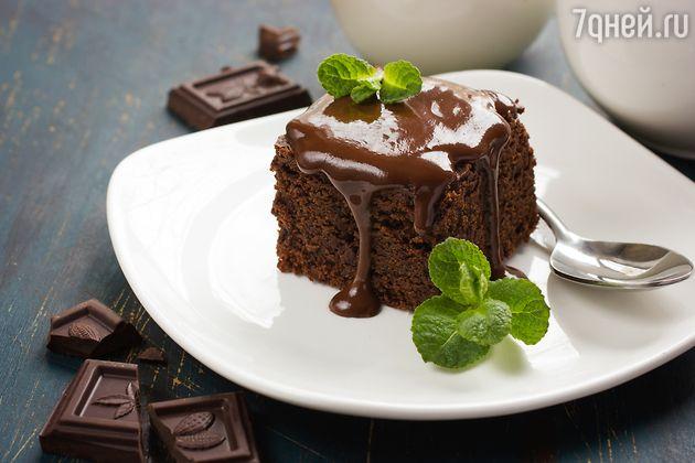 Шоколадно-кофейные пирожные