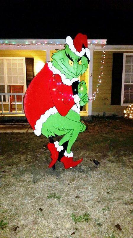 25 best grinch christmas lights ideas on pinterest