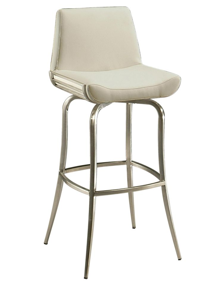 Degorah Swivel Counter Stool - Stainless Steel - Donu0027t let the simple silhouette of the Impacterra 26 in. Degorah Swivel Counter Stool - Stainless Steel ...  sc 1 st  Pinterest & 35 best Barstools images on Pinterest | Bar stools Stainless ... islam-shia.org