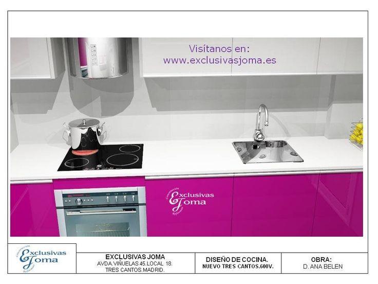 163 best images about dise os en 3d cocinas on pinterest for Diseno de cocinas 3d 371