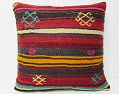 euro sham large pillow kilim euro pillow case large cushion cover large sofa pillow large kelim pillow 24x24 kilim pillow 24x24 brown 23283