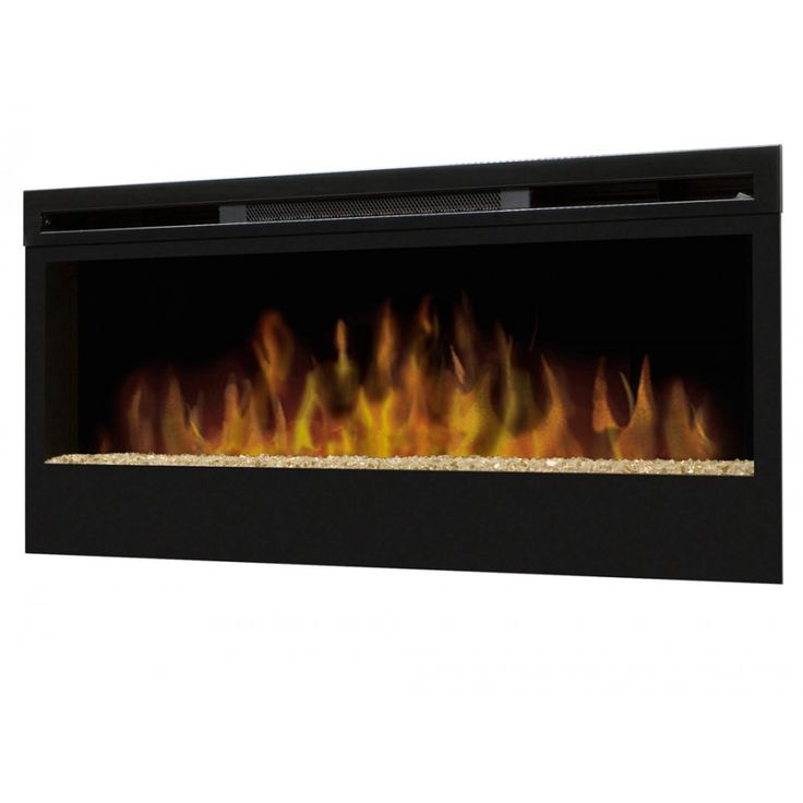 Dimplex Synergy Wall-Mounted Electric Fire with Glass Flame Bed - Electric decorative Heaters - BY STYLE - HEATING