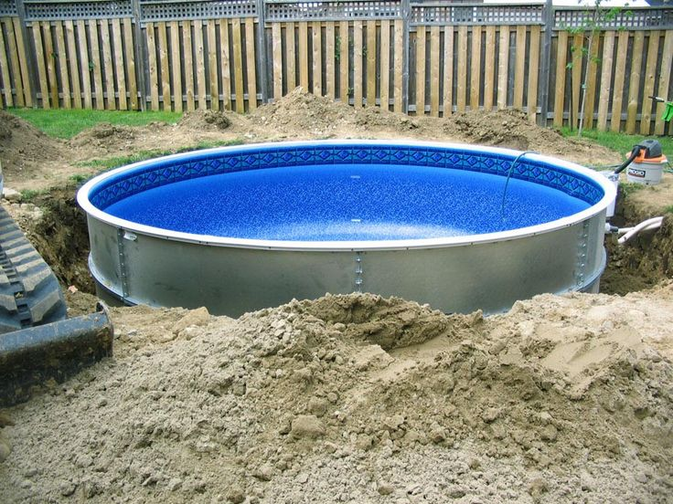 semi inground pool kits pool ideaspatio - Inground Pool Patio Ideas