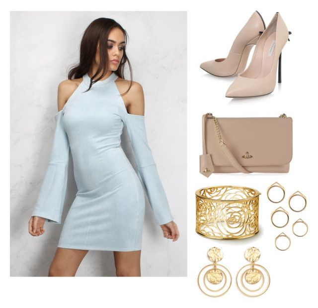 """""""Untitled #132"""" by smileyface1203 on Polyvore featuring Rare London, Casadei, Vivienne Westwood and Kenneth Jay Lane"""