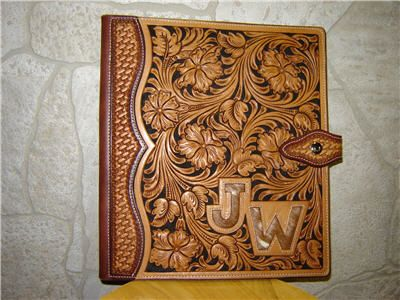 Custom leather tooled photo albums - Google Search