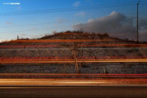 Painting with car light #josafatdelatoba #cabophotographer #loscabos #lightpainting #longexpositure