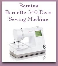Bernina Bernette 340 deco