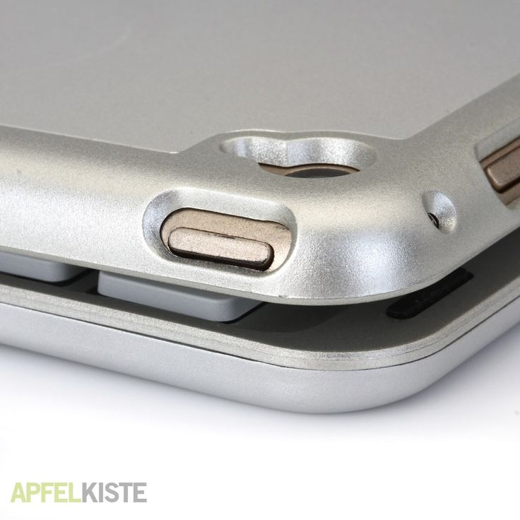 1 x iPad Air 2 Alu Bluetooth Tastatur Case Hülle im Slim Look (beleuchtet) - Silber 1 x USB Ladekabel (Micro) 1 x Bedienungsanleitung (Englisch)