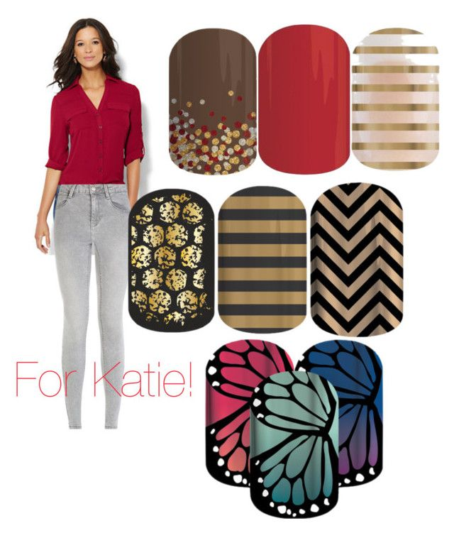 """""""Jamberry Styles for Katie!"""" by sev133 on Polyvore featuring New York & Company"""