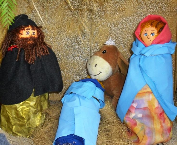 María, José y el niño