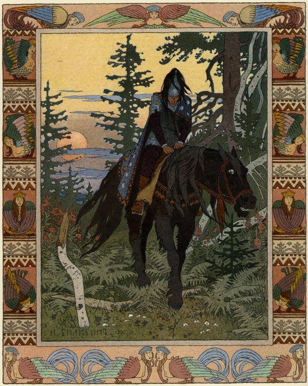 Ivan Bilibine (1876-1942) – Illustration pour un conte russe