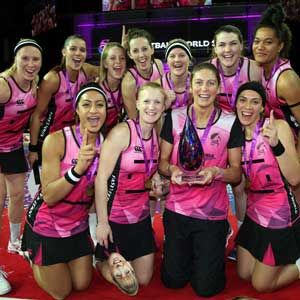 FAST5 Ferns win thriller to secure third successive title The FAST5 Ferns presented Irene van Dyk a fitting farewell when winning their third successive FAST5 Netball World Series after posting a 35-31 win over Australia in the Grand Final in Auc...