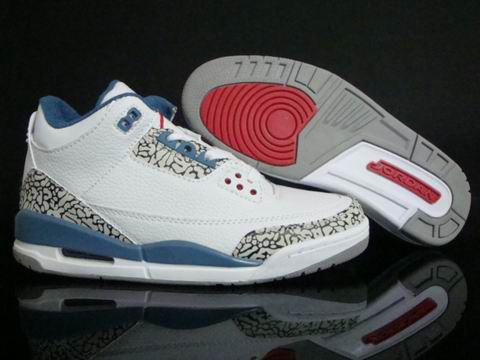 Reduced Nike Air Jordan Cemenst 3 Iii Retro Mens Shoes 2012 White Blue  Black from Reliable Big Discount!
