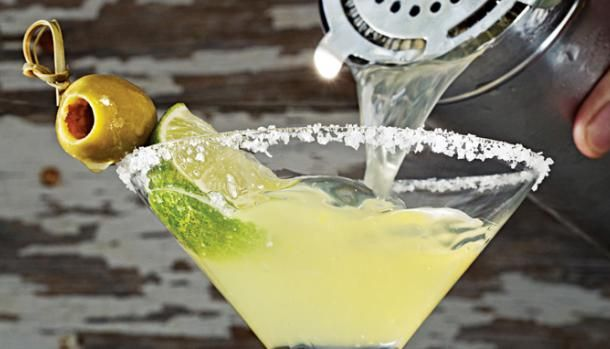 Mmmm.. Mexican Martinis. My new obsession since moving to Austin. To die for.