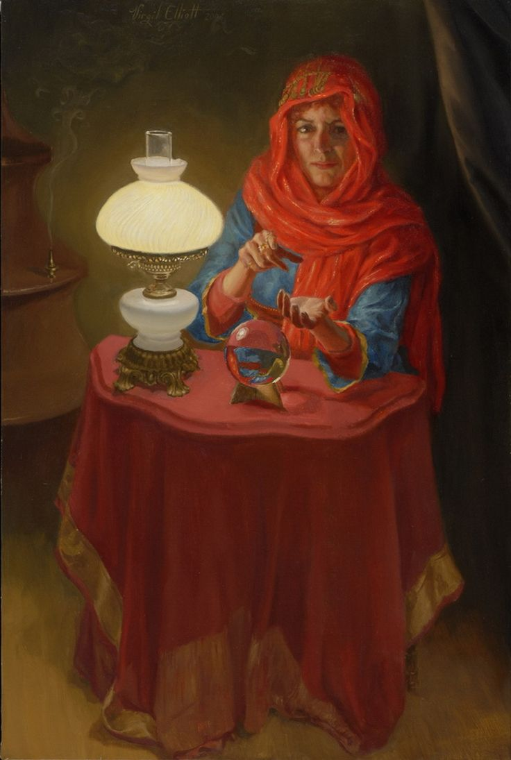 the_fortune_teller-Virgil Elliott