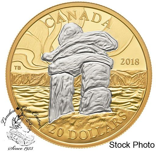 Canada: 2018   $20 . Canada's iconic Inukshuk