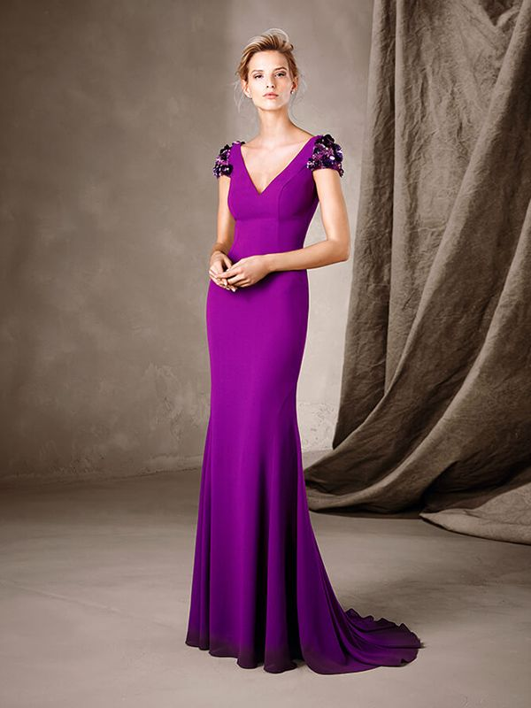 49 best Vestidos images on Pinterest   Evening gowns, Formal prom ...