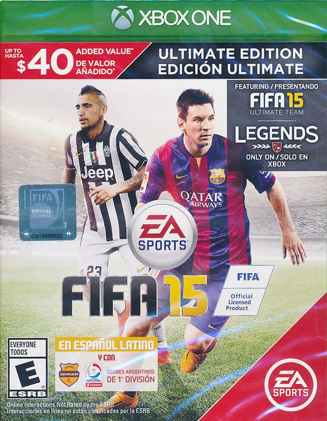 FIFA 15 Ultimate Team Edition Xbox One Game Brand New Sealed