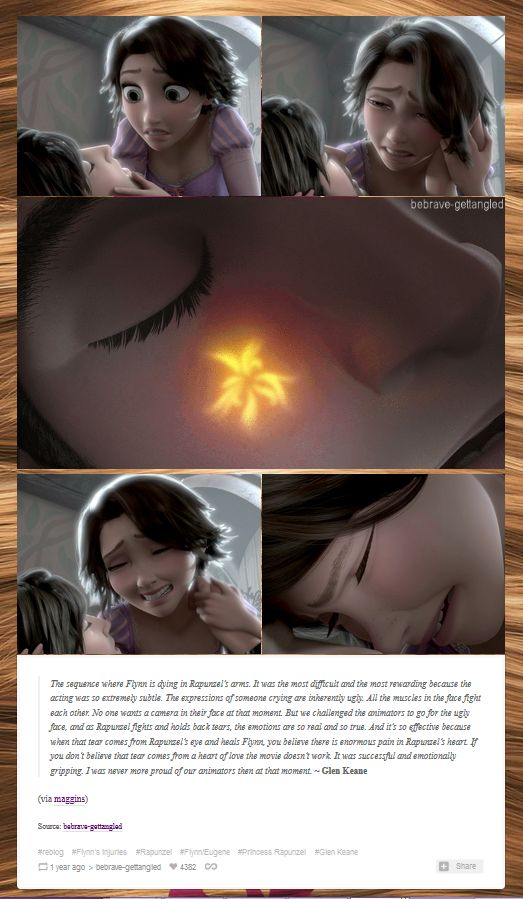 Truly stunning animation that breaks your heart | Tangled
