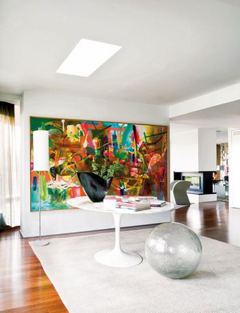 DECORAR CON GRANDES CUADROS [] DECORATE WITH LARGE CANVASES