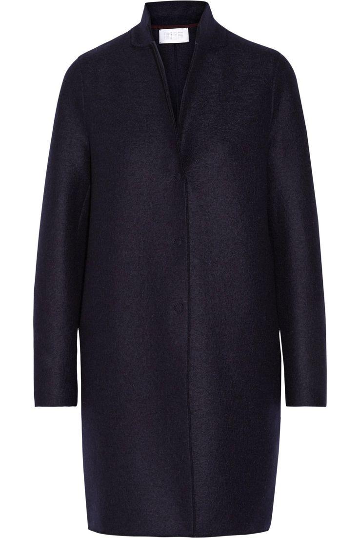 Harris Wharf London | Boiled wool-felt coat | NET-A-PORTER.COM