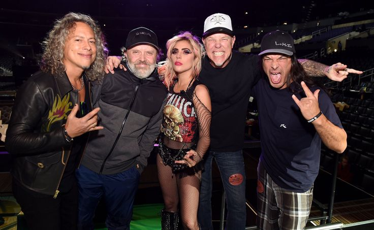 """It's Happening: Lady Gaga Invited To Join Metallica As """"Co-Lead Singer"""""""