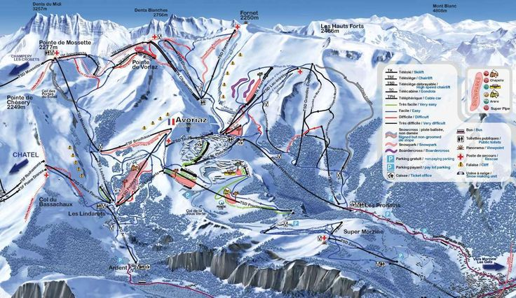 About Avoriaz Maps