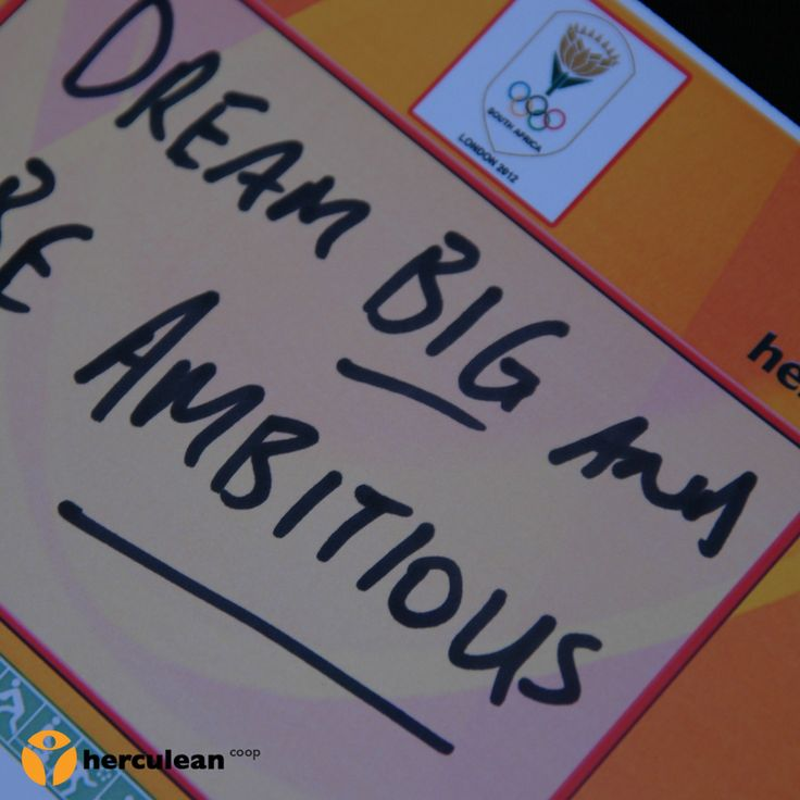 Dedication note from the South African Olympic team at Hercules Trophy South Africa. #dreambig #beambitious