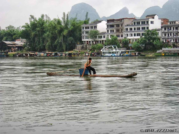 Postcards from Yangshuo and Li river #ahevision
