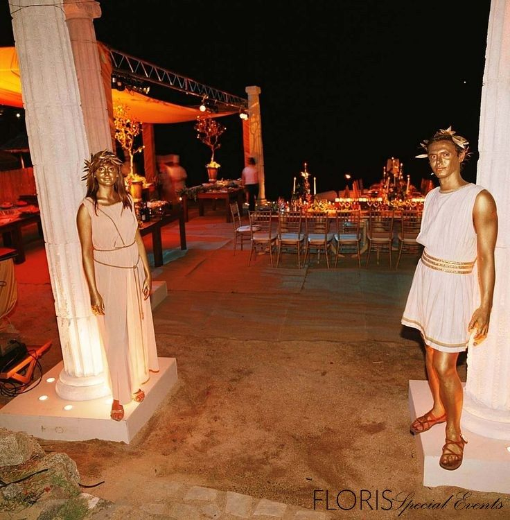 FSE GREEK TOGA PARTY ON THE ISLE OF MILOS