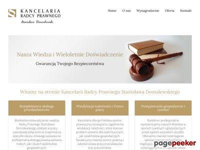Strona http://radcaprawnyminsk.pl szacunkowo wyceniana jest na 2 206,43 zł - Aktualny Pagerank 1 - Wyceniono.pl