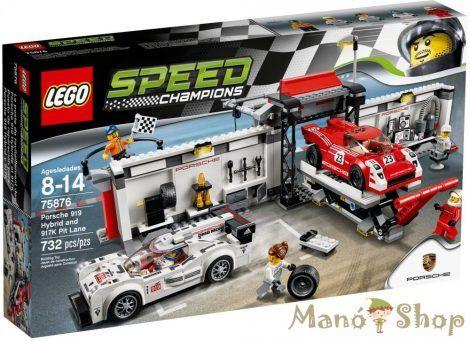 Lego Speed Champions Porsche 919 Hybrid és 917K bokszutca 75876