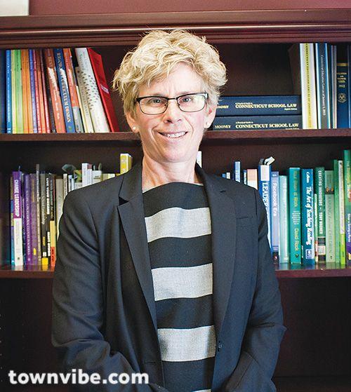 What is Karen Baldwin, Ridgefield's Superintendent of Public Schools, up to?