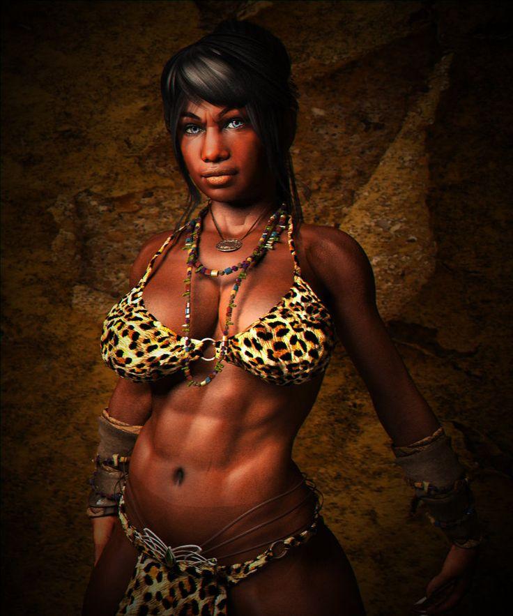 Exotic Sexy Dwarf Women 54