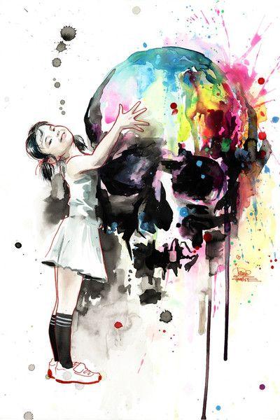 Girls Love Skulls - New from Lora Zombie -