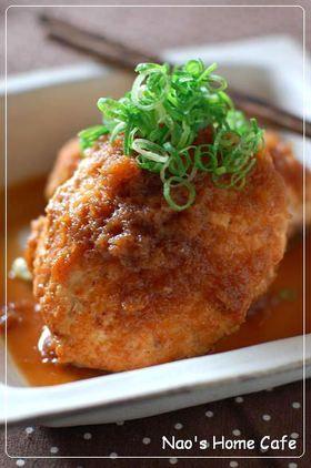 鶏と豆腐のおろしポン酢ハンバーグ by なお★nao [クックパッド] 簡単 ...