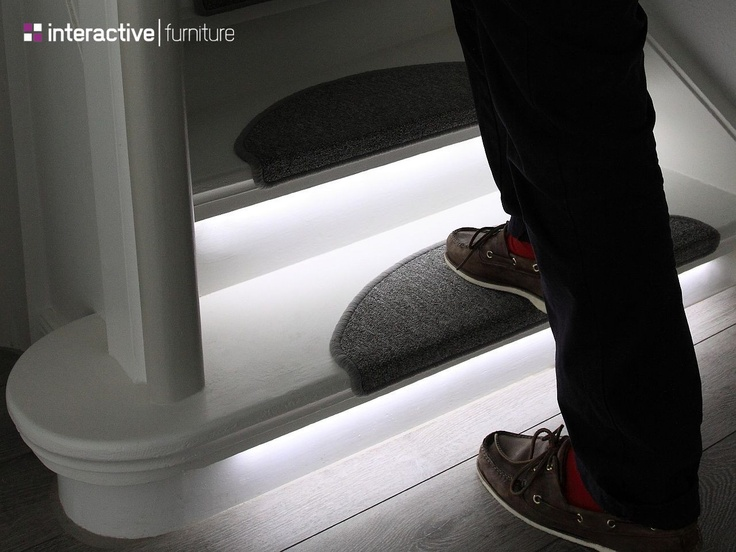 50 best images about LED Lighting Ideas for Staircases on