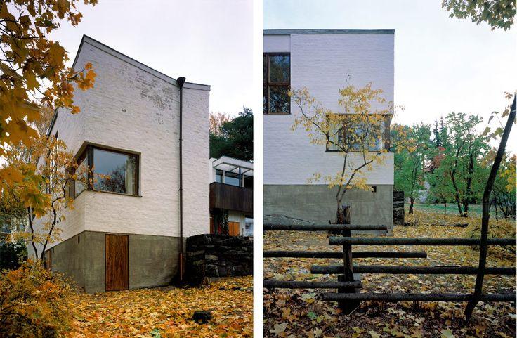 The Aalto House, exterior – Photos by Maija Holma © Alvar Aalto Museum