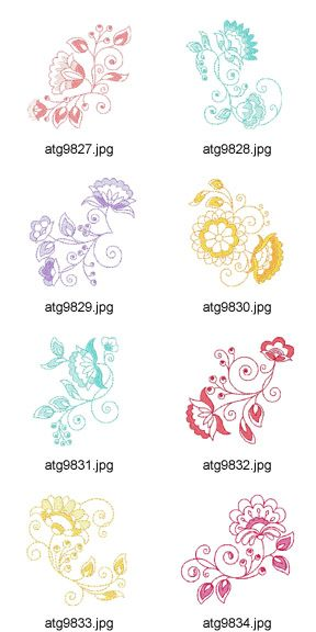 For-Jacobean-Lovers Embroidery Designs