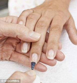 manicures can increase the risk of SKIN CANCER as well as wreck y