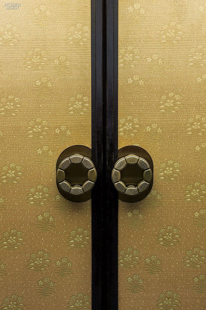 Tokyo's Hotel Okura: Doors with metal pulls lead to the largest ...