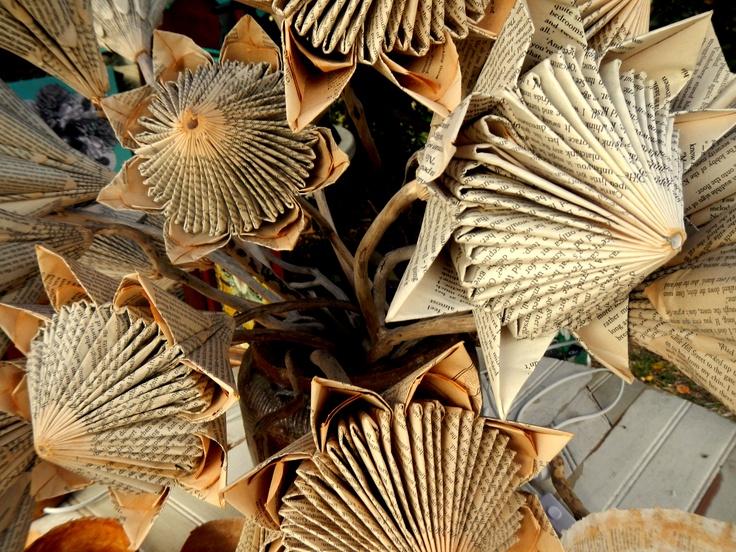beautiful paper proteas www.stonecottage.co.za