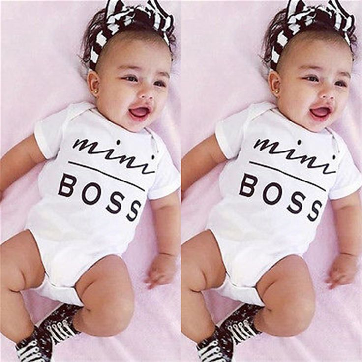 Newborn Baby Rompers Kids Rompers Boys Girls Clothes Baby Clothing Cotton Clothes White Cotton Romper Jumpsuit Outfit Sunsuit