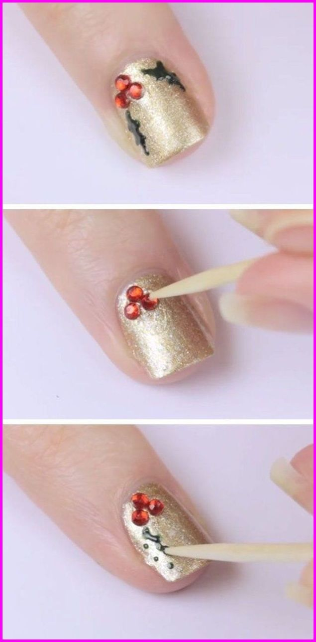 77 Easy Winter Nail Art Ideas you Should to Try Now