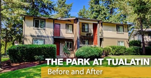 It is time to introduce another Community Redefined project, Park at Tualatin Apartment Homes; a rebranded #apartment community located in #Tualatin, OR. Trinity Property Consultants together with Redwood Construction have completed 9 interior renovations and many exterior improvements. Take a look at the before and after pictures to view the transformation! http://blog.trinity-pm.com/community-redefined-park-at-tualatin-apartment-homes/