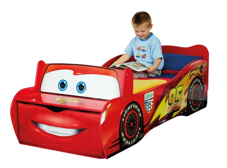 CAMA CARS DISNEY MADERA 140CMS X 70CMS. 452LMN01EM. INCLUYE COLCHÓN AIR FOAM, IndalChess.com Tienda de juguetes online y juegos de jardin