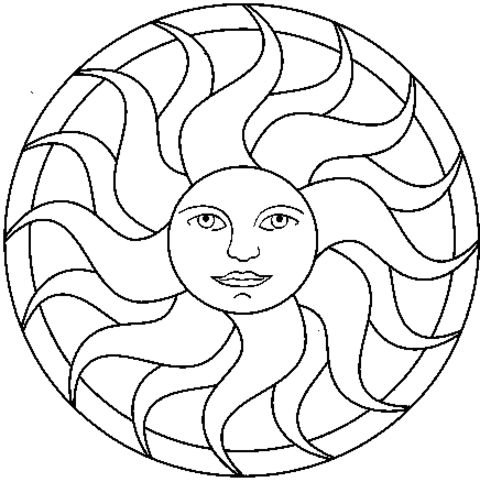 sun detailed coloring pages coloring pages for teenagers coloring town - Coloring Pages For Teens