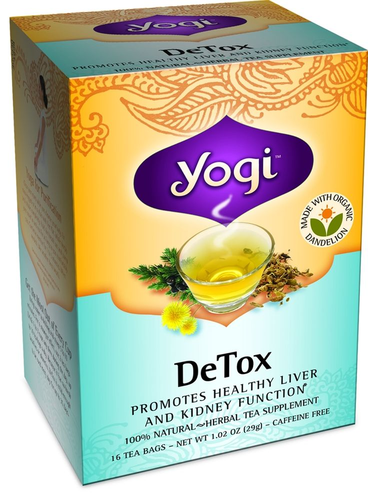 I drink this every night! 5/5  Yogi Tea DeTox Organic Dandelion Tea -  Caffeine Free. A gentle way to detox the body. Supports healthy liver and kidney function. A healthy detoxification and cleansing, high in potassium. Works wonders!!!!